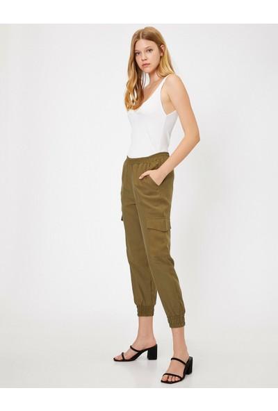 Koton Kadın Kargo Pantolon