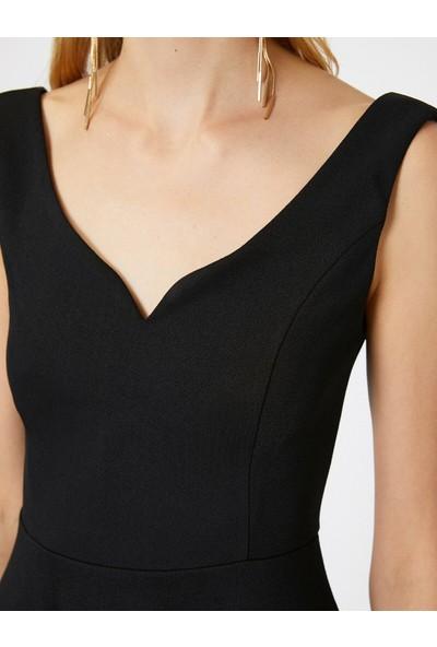 Koton Kadın Kolsuz Elbise