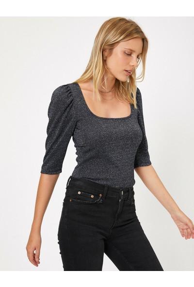 Koton Kadın Sim Detaylı Bluz