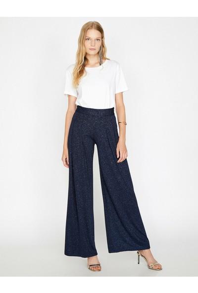 Koton Kadın Sim Detaylı Pantolon
