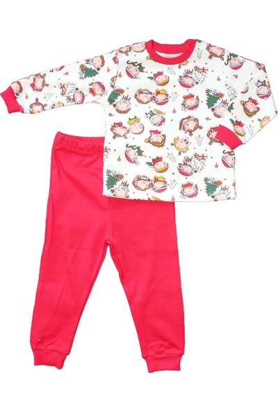 Biricik's Yılbaşı Temalı 2li Çocuk Pamuk Pijama Takım