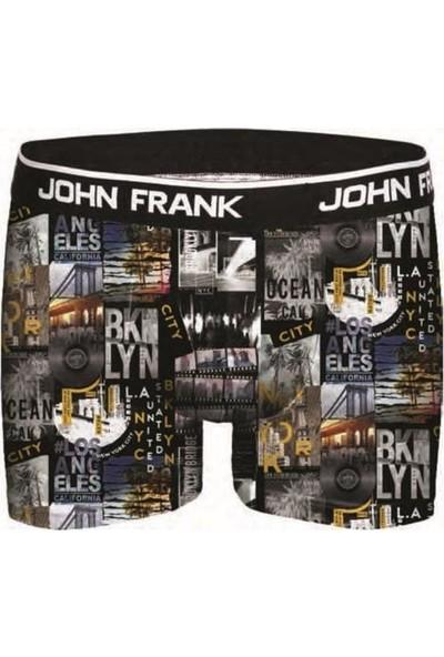 John Frank Erkek Dijital Baskılı Boxer Jfbd26