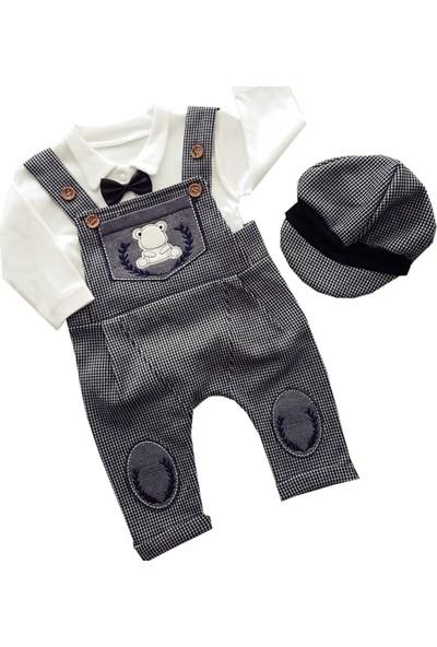 Murat Baby 3 Lü Salopet Tulum