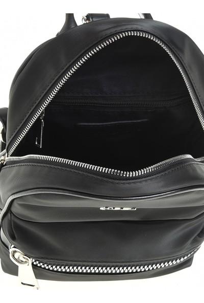 Sim Kadın Sırt Çanta Siyah