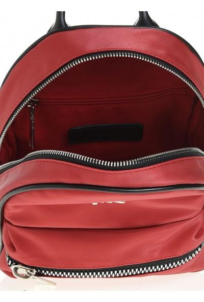Sim Kadın Sırt Çanta Kırmızı