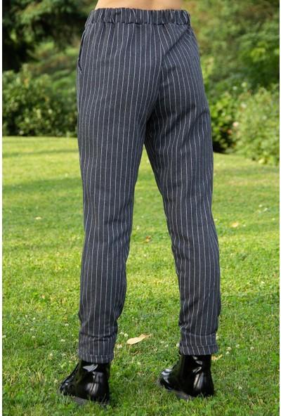 Morpile Kadın Bel Lastikli Pantolon