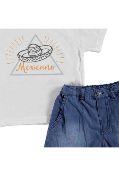 Baby Corner Erkek Bebek Arizona Arizona 2'li T-Shirt Şort Takım