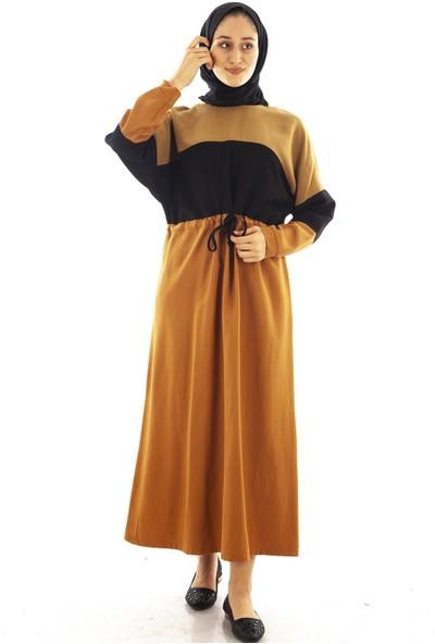 Arda New Line Kadın Hardal Elbise 7401217.52