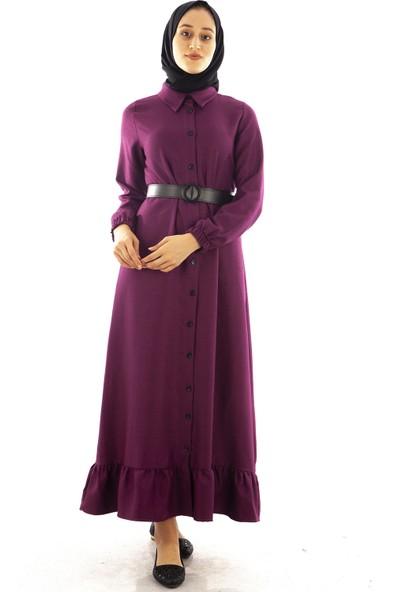 Arda New Line Kadın Mor Elbise 7709205.03