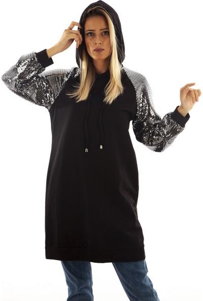 Arda New Line Kadın Siyah Tunik 9407730.01