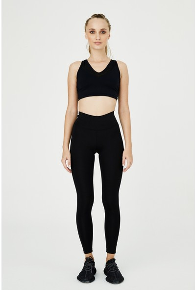 Bellis Activewear Hıgh Waıst Push Up Tayt(Sıyah)