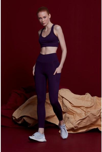 Bellis Activewear Izzıe Tayt(Mor)