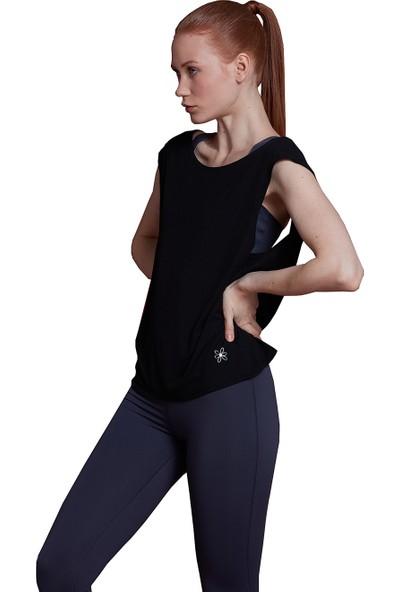 Bellis Activewear Penelope Bluz(Siyah)