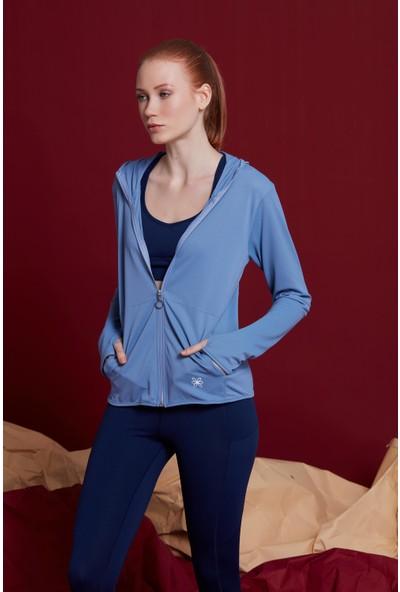 Bellis Activewear Ully Sweatshırt(Mavı)
