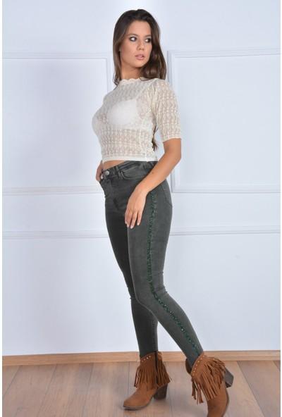 Rodin Hills Yanı Taş Droplu Kot Pantolon 357