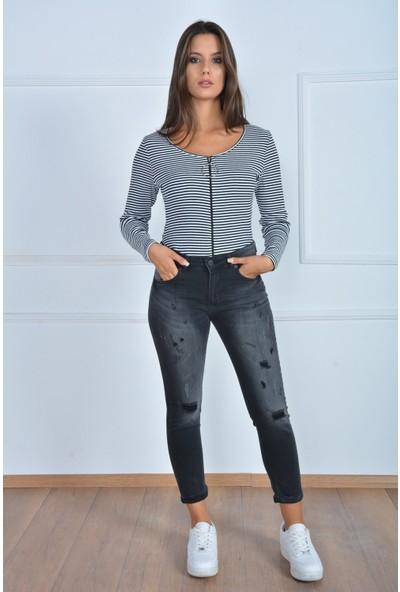 Rodin Hills Kadın Mom Jeans 222