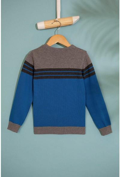 U.S. Polo Assn. Erkek Çocuk Triko Kazak 50206057-Vr077