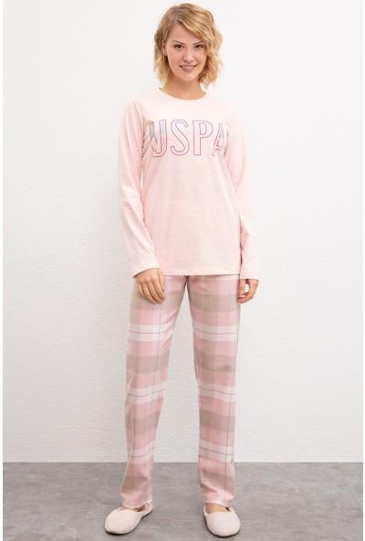 U.S. Polo Assn. Kadın Pijama 50223304-Vr114