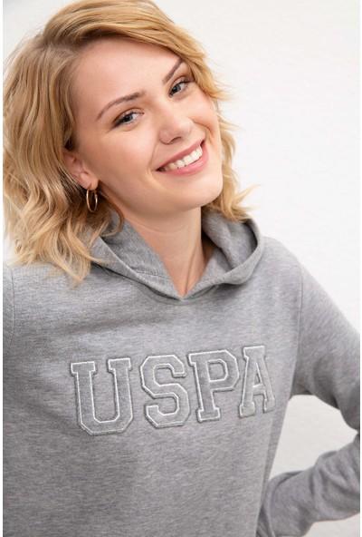 U.S. Polo Assn. Kadın Sweatshirt 50216083-Vr086