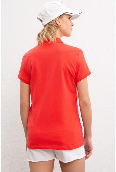 U.S. Polo Assn. Kadın T-Shirt 50220672-Vr039