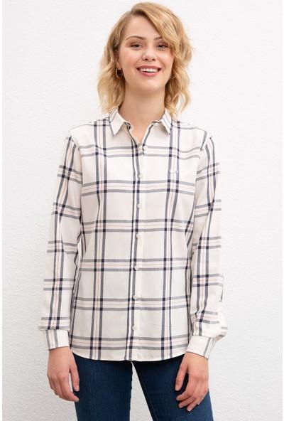 U.S. Polo Assn. Kadın Dokuma Gömlek 50207968-Vr019