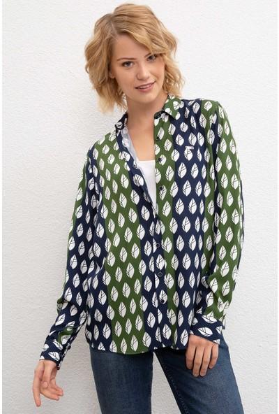 U.S. Polo Assn. Kadın Dokuma Gömlek 50207189-Vr054