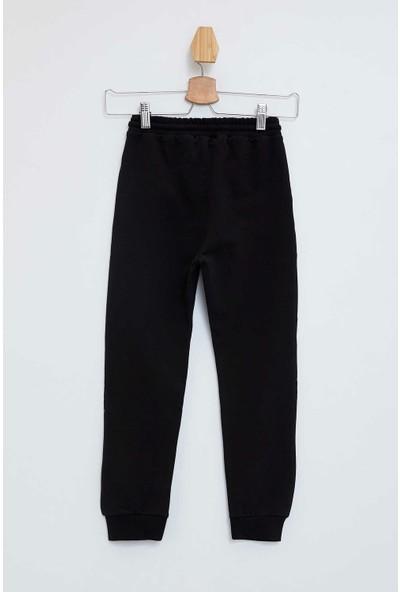Defacto Erkek Çocuk Baskılı Slim Fit Jogger Pantolon