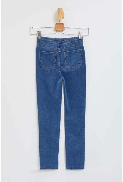 Defacto Kız Çocuk Skinny Fit Jean Pantolon
