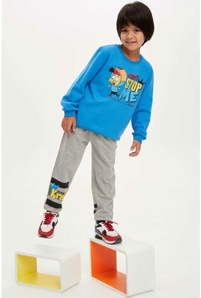 Defacto Erkek Çocuk Kral Şakir Lisanslı Slim Fit Jogger Pantolon
