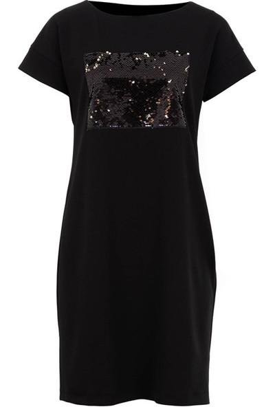 Miss Lilium 10870 Kadın Elbise Siyah