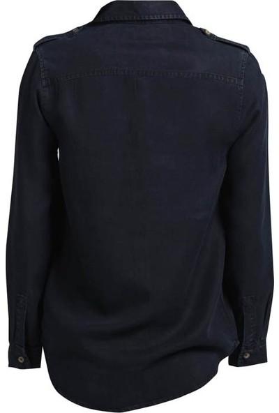 Vena 5004T Kadın Gömlek Siyah