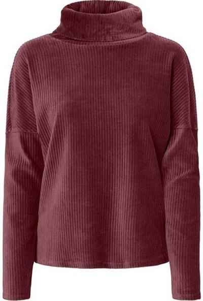 Vero Moda 10220388 Kadın Sweatshirt Bordo
