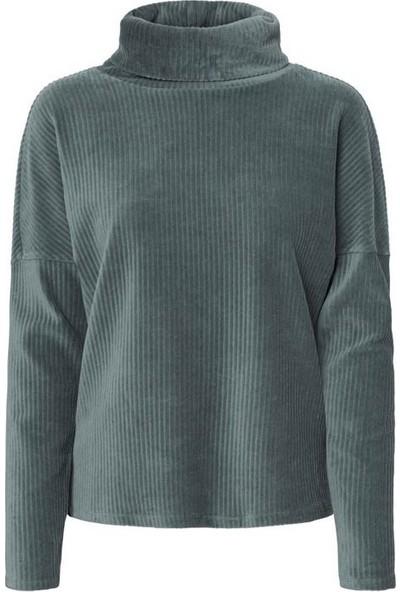 Vero Moda 10220388 Kadın Sweatshirt Petrol