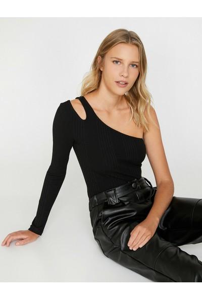 Koton Kadın Omuz Detaylı Bluz