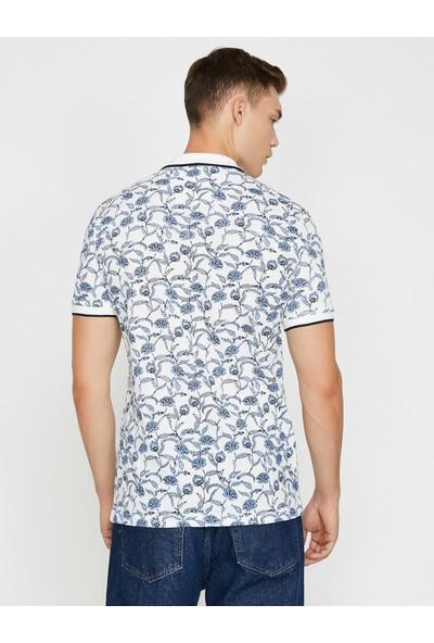 Koton Erkek Desenli T-Shirt