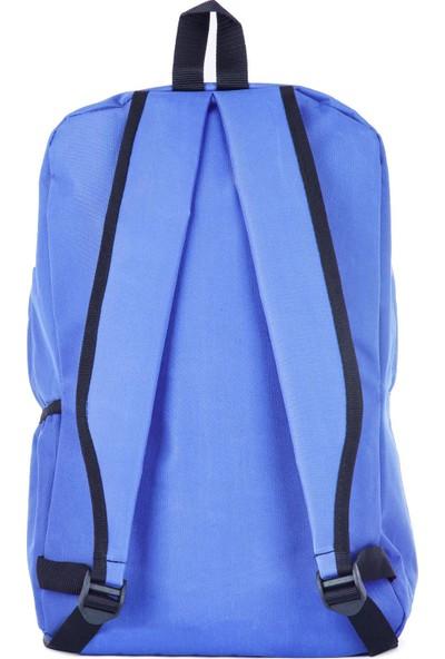 Rz Noble Sırt Çantası Be Your Style Saks Mavi 19001