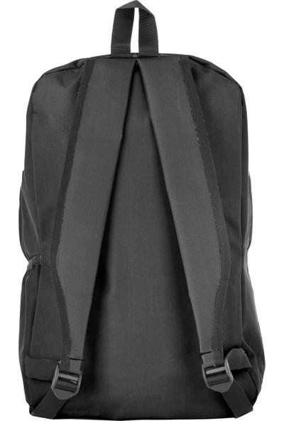 Rz Noble Sırt Çantası Be Your Style Siyah Kırmızı 19001