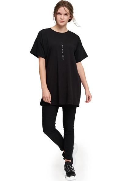 Mizalle Basic T-Shirt