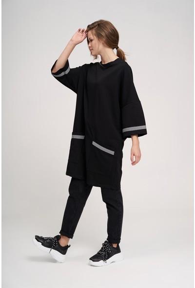 Mizalle Over Uzun Sweatshirt
