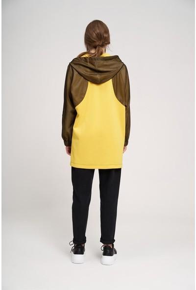 Mizalle File Detaylı Sweatshirt