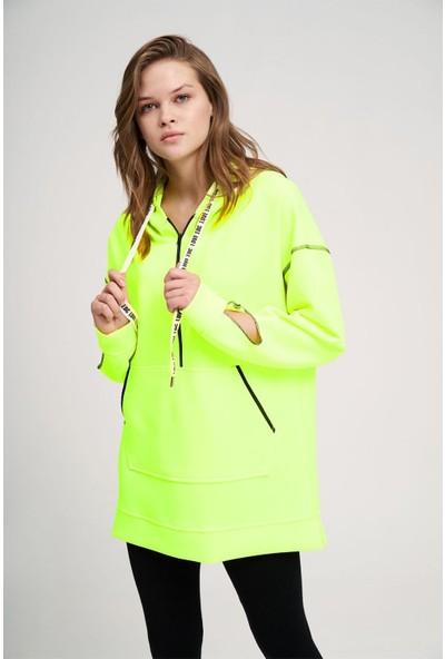 Mizalle Neon Karyoka Sweatshirt