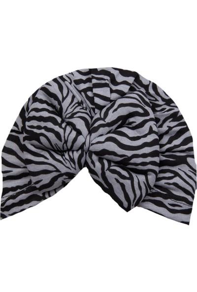 Albimama Zebra Desen Gri Bone Bere