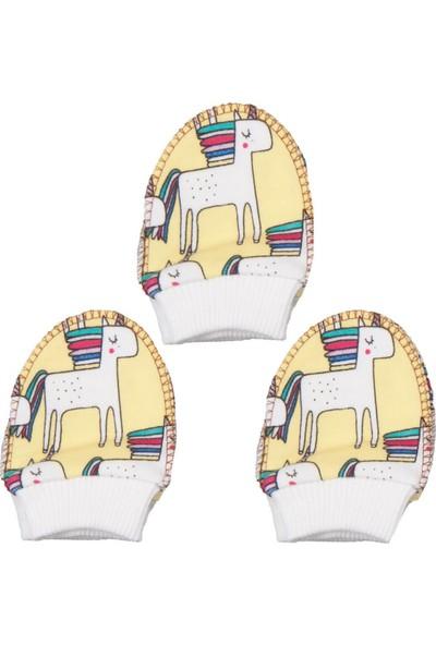 Minitoy Unicorn Desenli Penye Bebek Eldiven