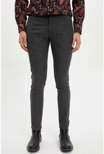 Defacto Erkek Tailored Fit Yün Pantolon