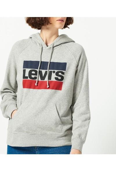 Levis Kadın Sweatshirt Graphic Sport Hoodie 35946-0111