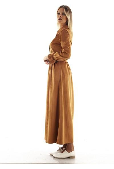 Arda New Line Camel Elbise 7709208.09