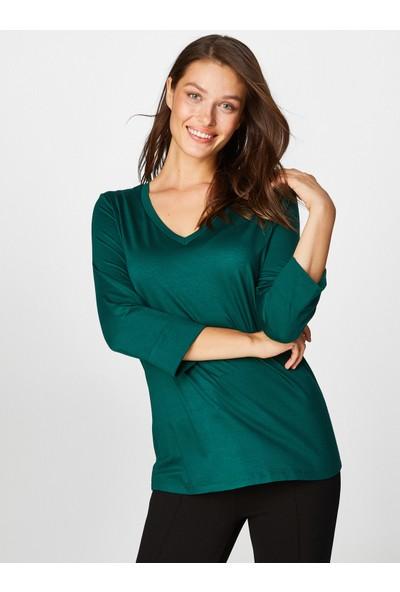 Faik Sönmez Kadın T-Shirt 39025