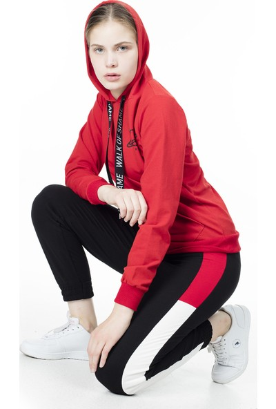 Lela Baskılı Kapüşonlu Sweat Kadın Sweat 5413002