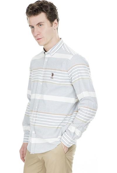 U.S. Polo Assn. Slim Fit Erkek Gömlek G081Gl004-849371