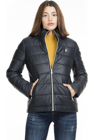 U.S. Polo Assn. Suni Kadın Deri Mont G082Sz035P01 Wp8030